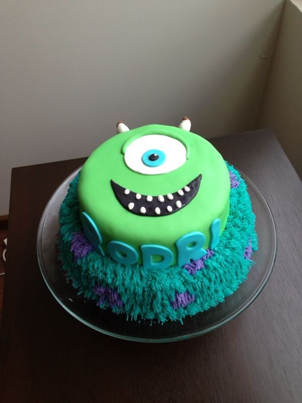 Monsters University cake. Party Ideas Pinterest