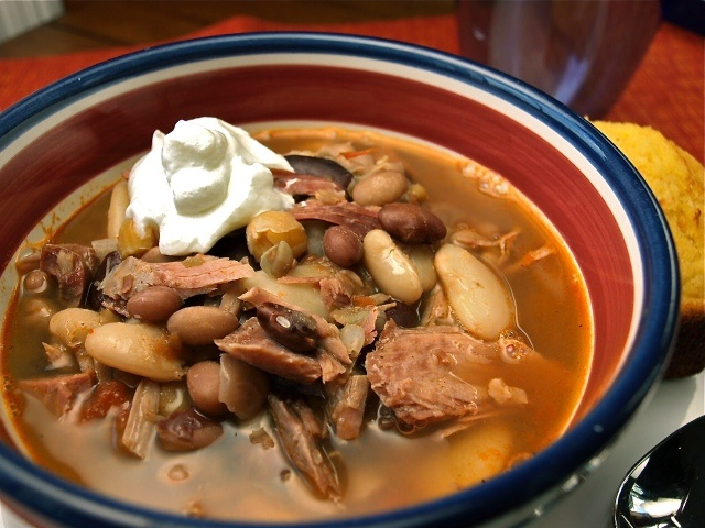 Cajun 15 Bean Soup with Smoked Turkey--making this tonight for ...