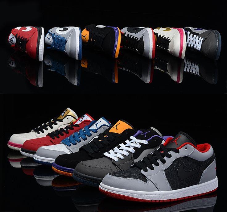 Air Jordan 1 men shoes (Top Leather) Sz:US 7/8/8.5/9.5/10/11
