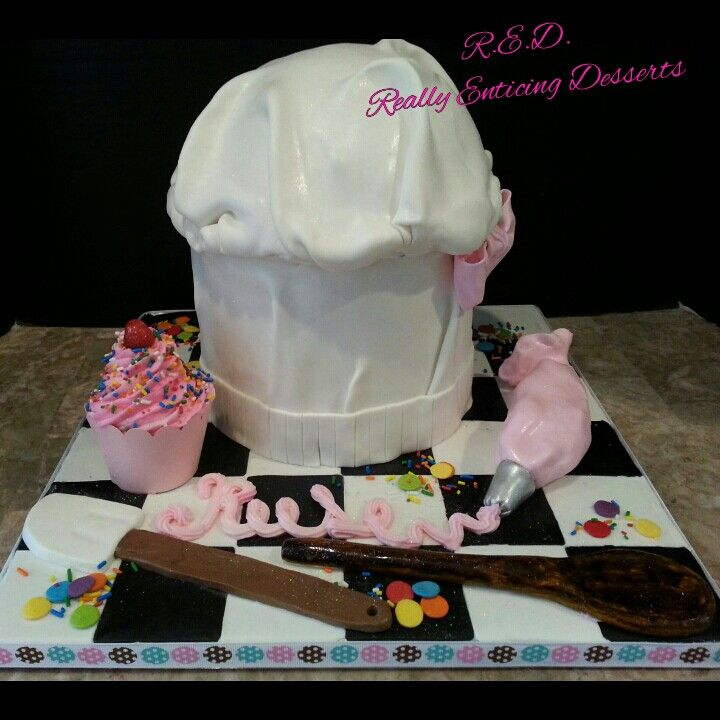 Chef Hat Cake Ideas 61388 Little Chef Themed Birthday Cake