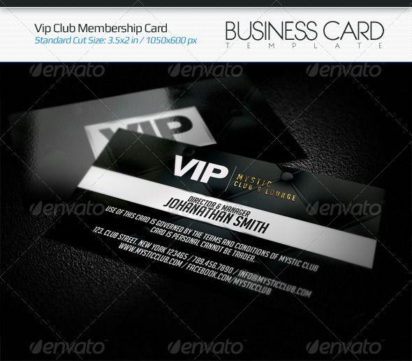 Club membership card template vip club membership card card pinterest reheart Gallery