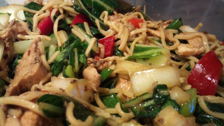 Thai Chicken Noodle Salad | Yummy Food | Pinterest
