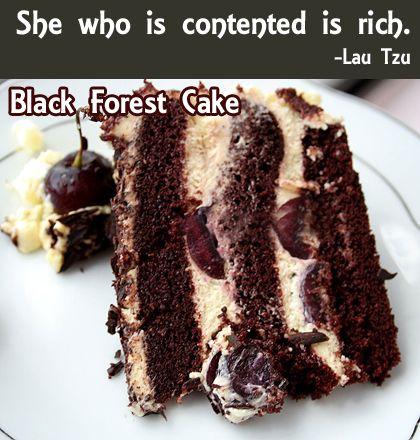 Easy Black Forest Cake | Favorite Recipes | Pinterest