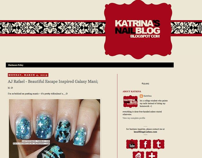 And tresses pinterest on 15 best nail art blogs on the internet