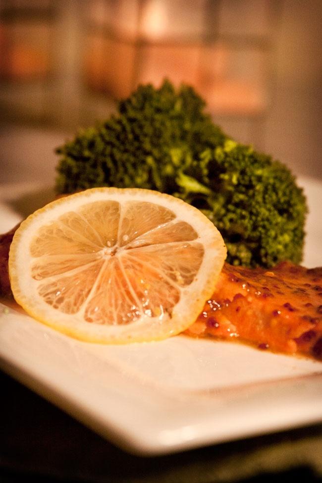 Salmon With Honey Mustard Glaze Recipe — Dishmaps