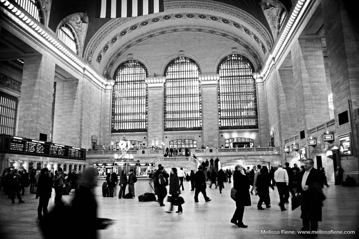 Grand Central Station in Black and White  New York City   Melissa    Grand Central Station Clock Black And White