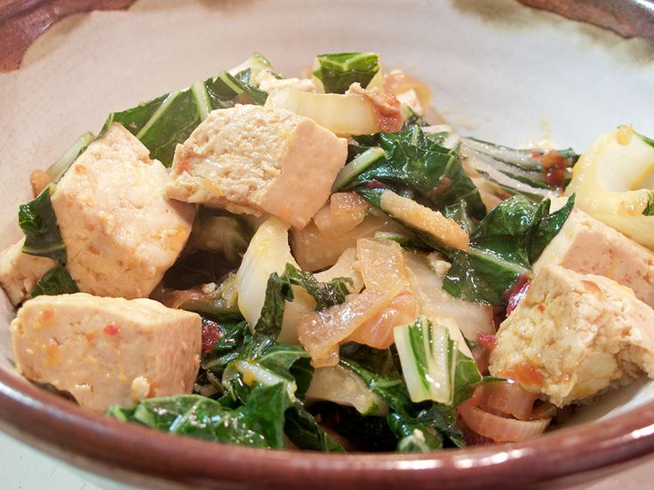 Spicy Bok Choy & Tofu - the whole website has great tofu recipes!