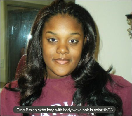 Tree Braids with Body Wave | HAIR | Pinterest
