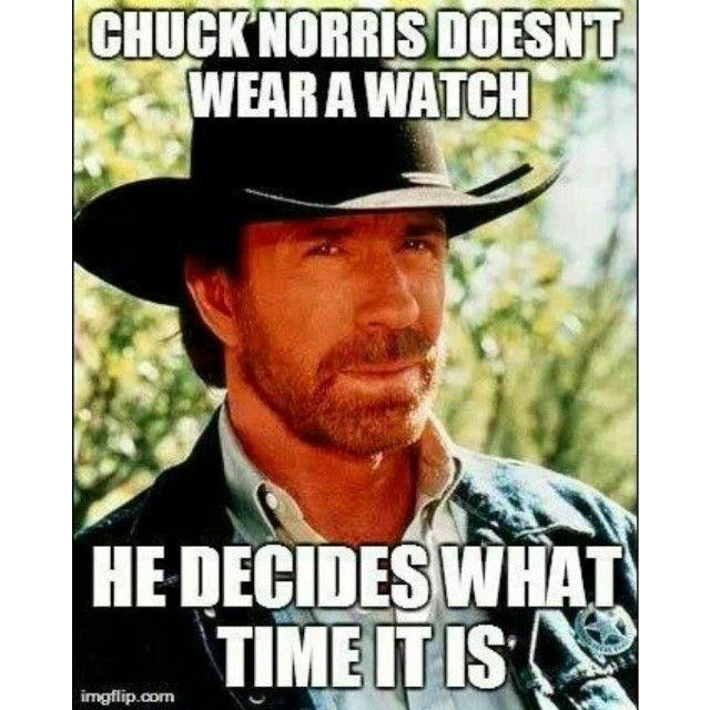 Chuck Norris jokes. | ...