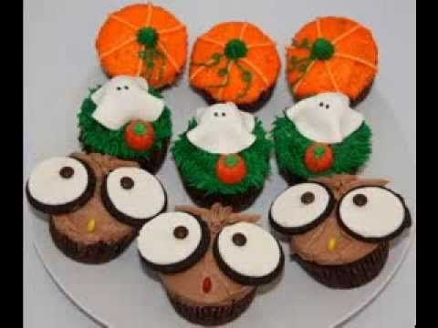 Halloween Cake Decorating Ideas Pinterest : Halloween Cupcake Decorating Ideas herrysm22 Pinterest