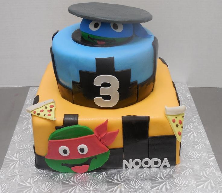 Calumet bakery fondant tmnt cake birthday party ideas pinterest