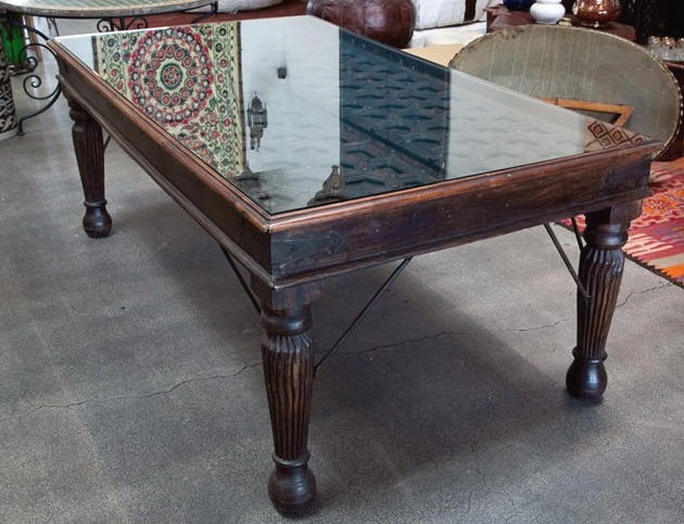 dining table antique door dining table