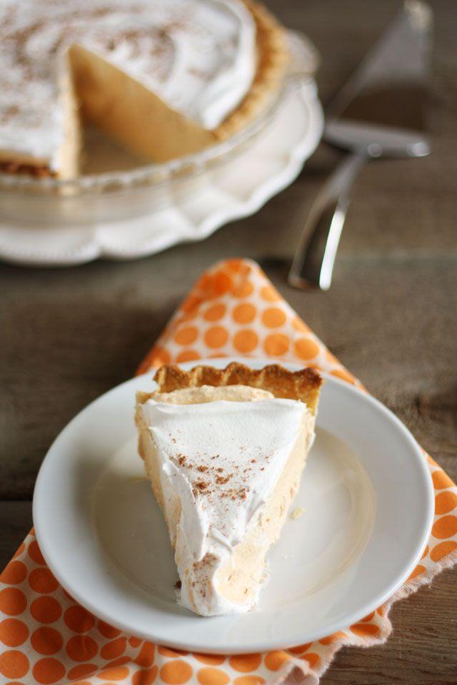 pumpkin-chiffon-pudding-pie | Dessert and Sweets | Pinterest