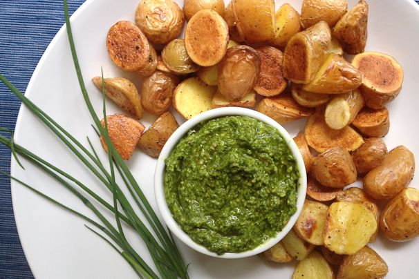 chive pesto a fantastic way to use fresh chives! save some in the ...