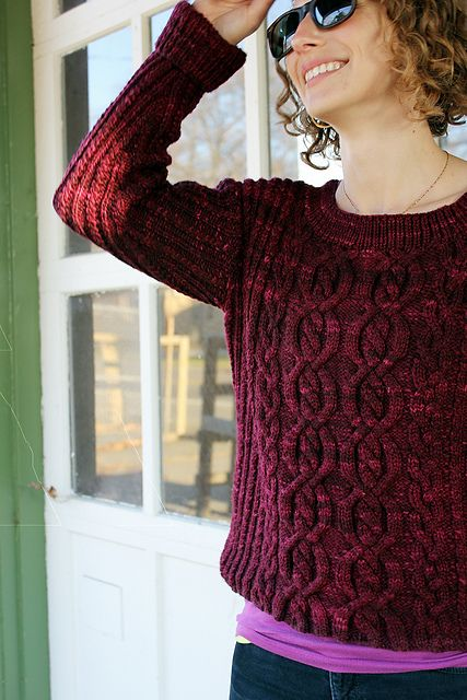 Ravelry: Brandied Cherry pattern by Thea Colman