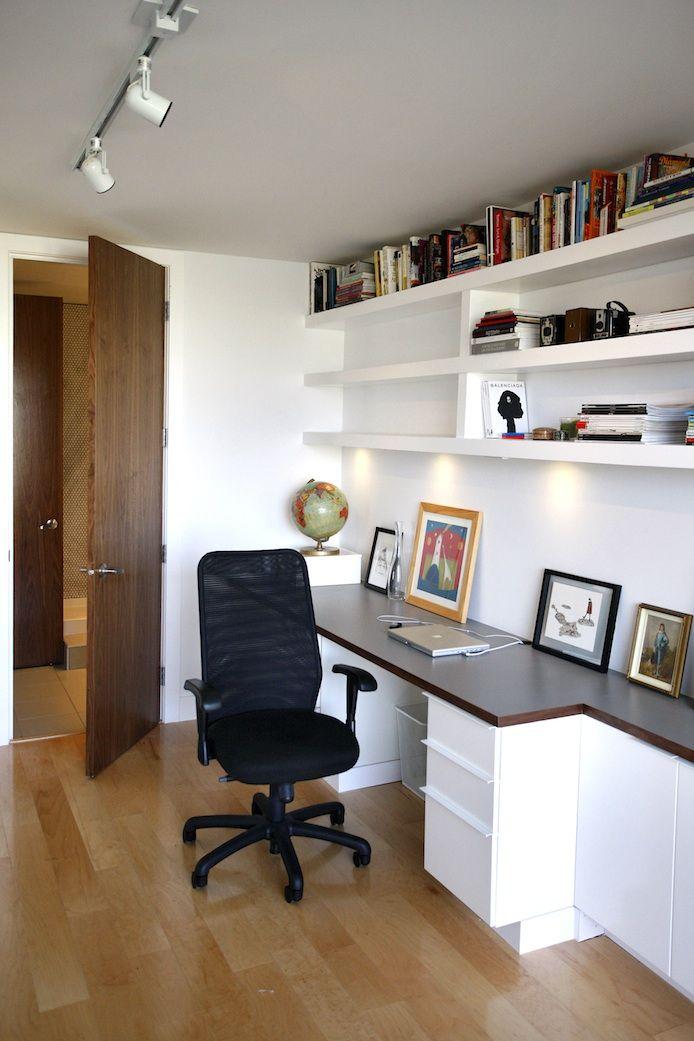 Shelving Above Desk Home Pinterest
