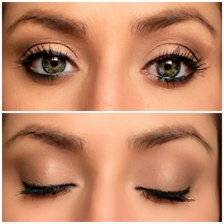 Natural Makeup Look For Brown Eyes Tutorial