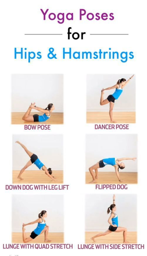 Yoga poses for hips and hamstrings | Healthful | Pinterest