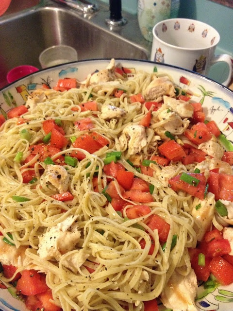 Summer Spaghetti | Favorite Recipes | Pinterest