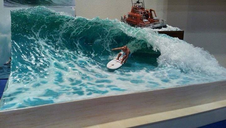 Wow how to model the water amazing boat ship models pinterest - Water kamer model ...