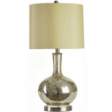 mercury glass table lamp jcpenney cassie k pinterest. Black Bedroom Furniture Sets. Home Design Ideas