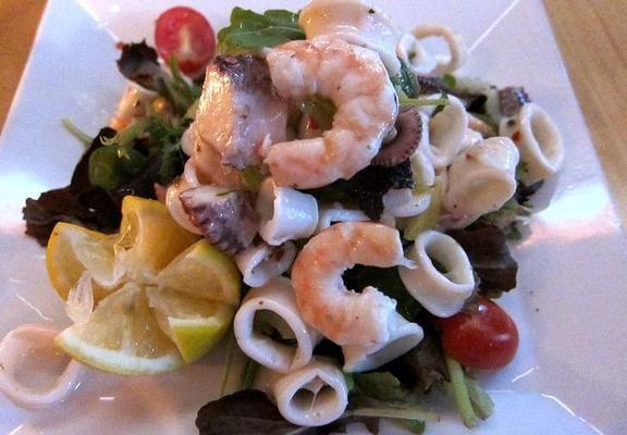 Frutti di Mare Salad | Appetizers / Starters | Pinterest