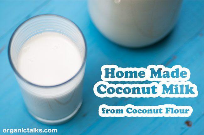 Home Made Coconut Milk | Rawtarian Community | Pinterest