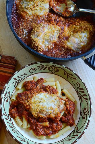 Skillet Chicken Parmesan (and a Giveaway!!!)