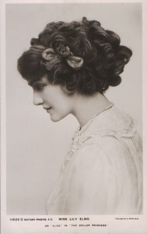 Complicated Edwardian hair