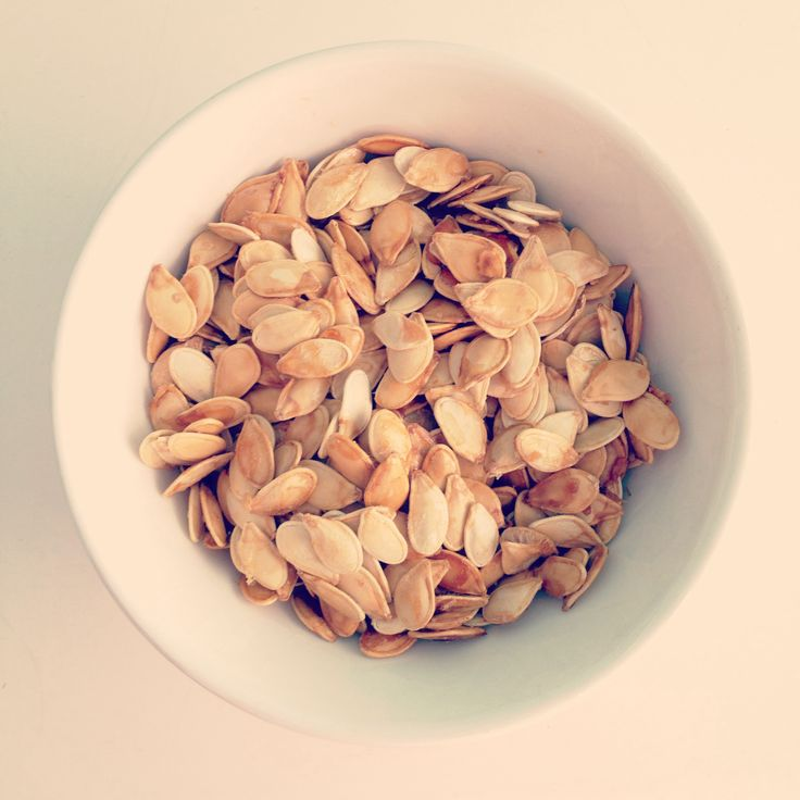 Maple Honey Roasted Pumpkin Seeds. All you need to do is mix butter ...