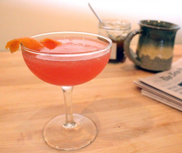 Orange marmalade cocktail (could use any marm, though)