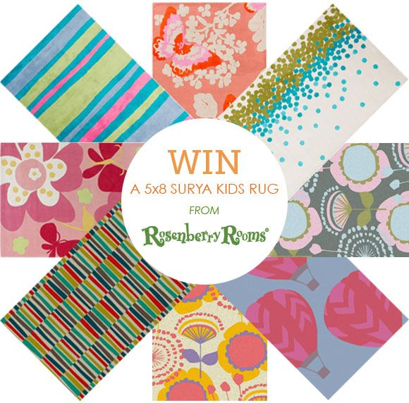 Win a 5x8 rug from rosenberry rooms giveaway ends february 23 2014