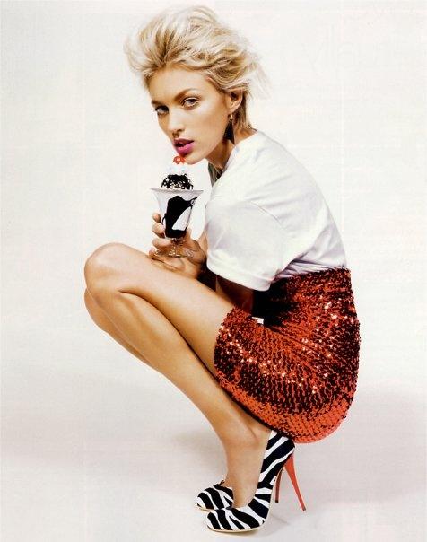 sequin skirt!
