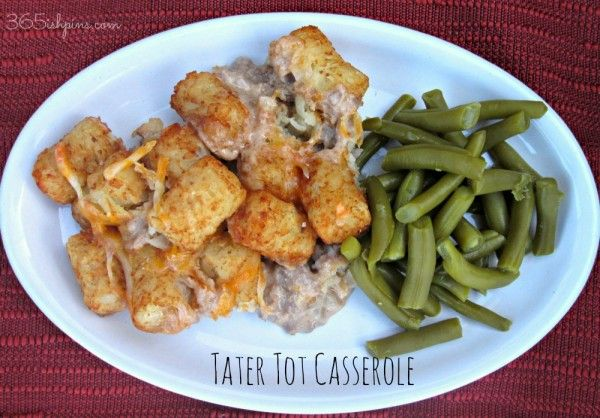 Tater Tot Casserole: Vol. 2, Day 36 - 365ish Days of Pinterest