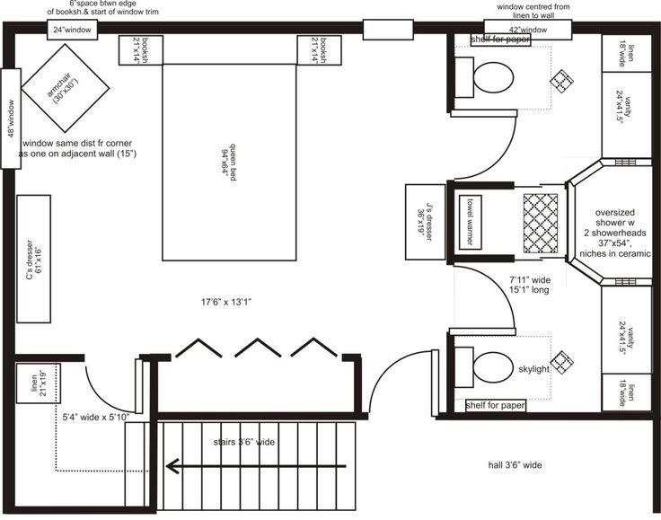 master bedroom addition floor plans his her ensuite layout advice