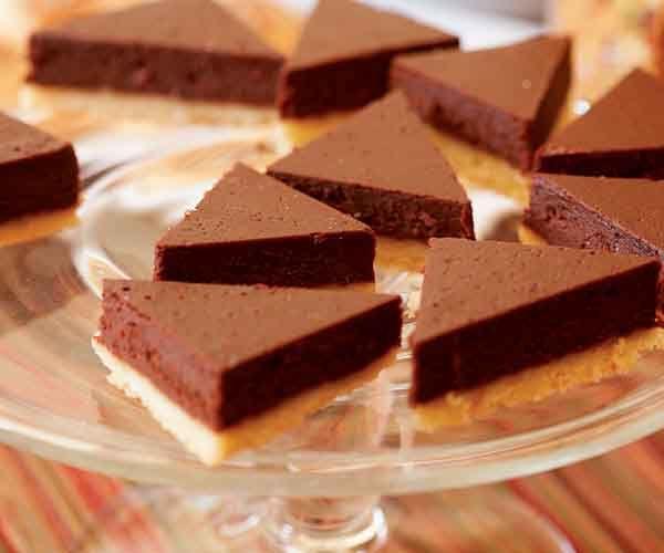 Kahlúa Truffle Triangles | Recipe