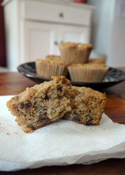 Oatmeal Muffins With Raisins, Dates, And Walnuts Recipe — Dishmaps