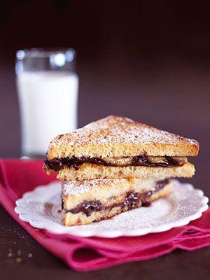 Grilled Chocolate Banana Sandwich | Recipe