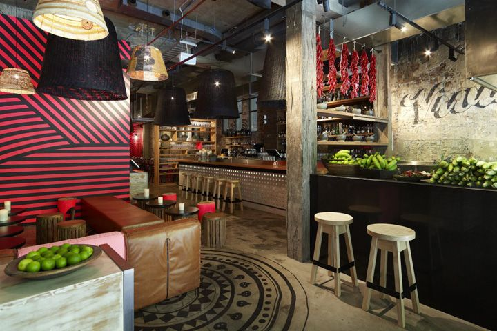 Mejico Restaurant Bar by Juicy Design Sydney Australia Méjico Restaurant & Bar by Juicy Design, Sydney Australia