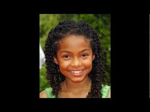 Natural Hairstyles: Famous Children video by Coco. In this video (in ...