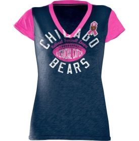 Chicago Bears Breast Cancer Awareness Tee