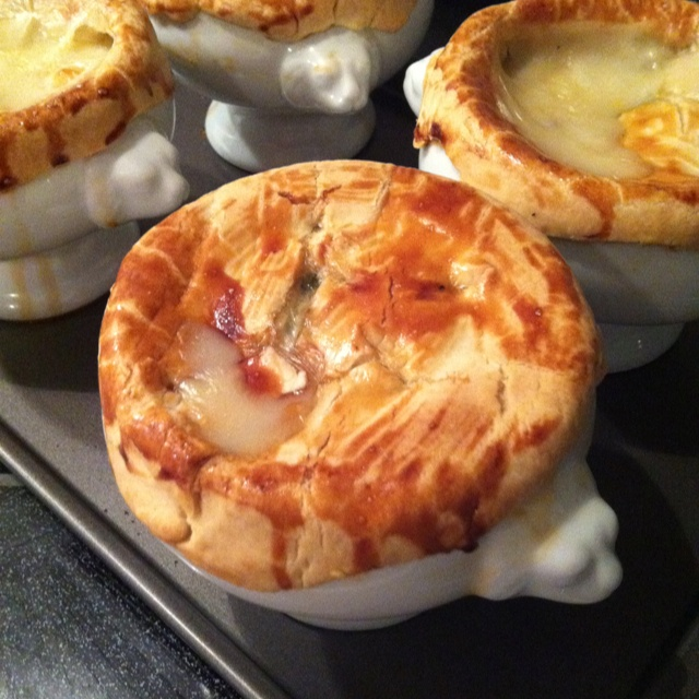 Individual Chicken Pot Pies | making grandma proud | Pinterest