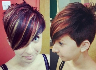 TriColor Progressive Highlight Wonderful Fall Look Color Highlights Asy