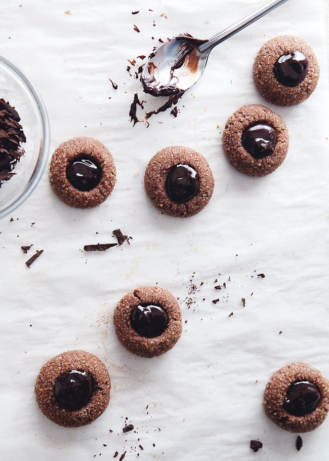 Chocolate Thumbprint Cookie Recipes — Dishmaps