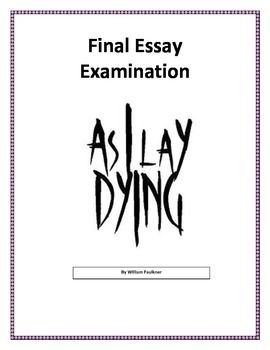 As i lay dying essay