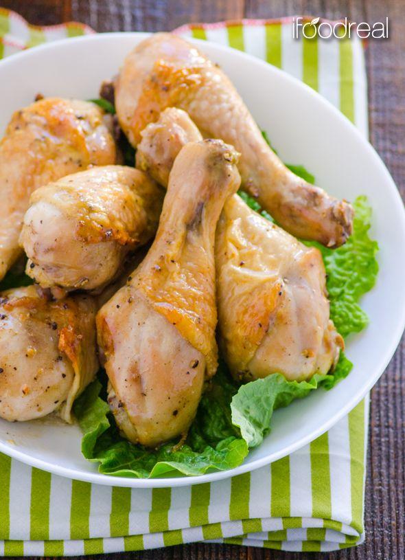 Simple Baked Dijon Chicken | Recipe