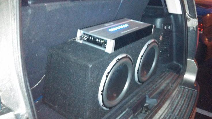 Hifonics 21watt amp