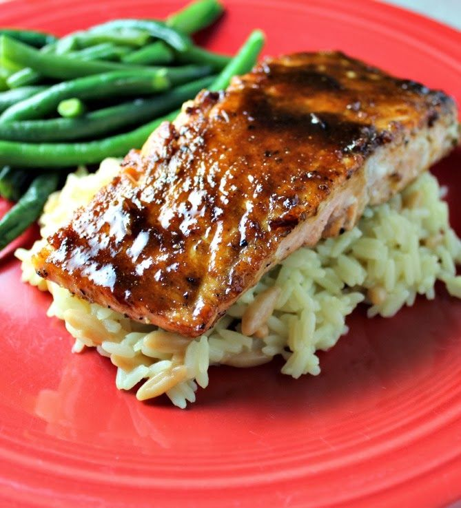 Miso-Ginger Glazed Salmon | Light & Fresh Meals | Pinterest