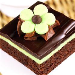 Chocolate Mint Dessert Brownies Allrecipes.com