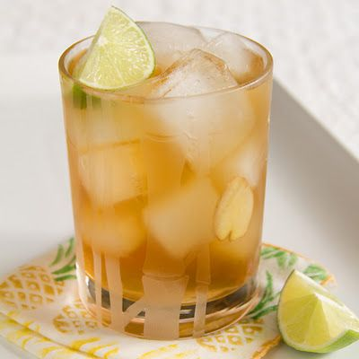 Classic Dark and Stormy Cocktail | Foodspiration | Pinterest